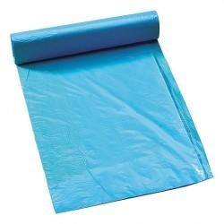 Afvalzak blauw doos 25 rollen à 20 zakken
