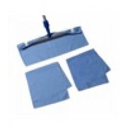 microvezel dweil 50 x 60 cm blauw