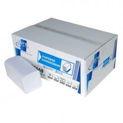 Handdoek tissue papier wit z-vouw 2 laags