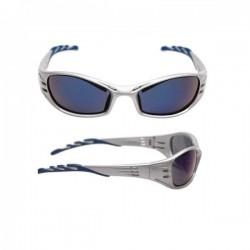 Veiligheidsbril 3M Fuel lichtgrijs/blauwe lens