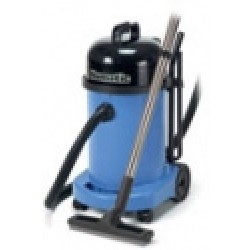 Stof- en Waterzuiger 70 ltr blauw