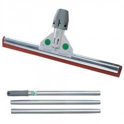 Vloertrekker versterkt inclusief steel, rood 75 cm