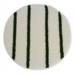 Bonnetpad wit/groen 17 inch