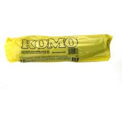 Afvalzak Komo doos 20 rollen à 20 zakken