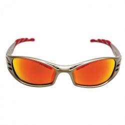 Veiligsheidsbril 3M Fuel goudkleur/rode lens