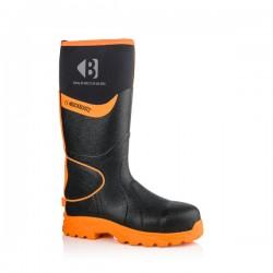 Buckler Boots S5, rubber neopreen, zwart-oranje
