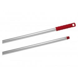 Aluminium steel 1.4 mtr conus rood schroefdraad